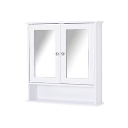 Kleankin Spiegelschrank Spiegelschrank mit Ablage
