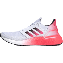 adidas Ultraboost 20 M cloud white/core black/signal pink/coral 42 2/3
