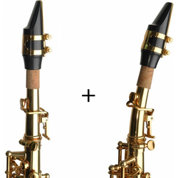 Steinbach Saxophon Steinbach SSSS-100 Sopran Saxophon gerade Hoch Fis-Klappe