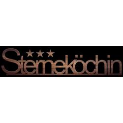 Schriftzug STERNEKÖCHIN(LB 30x120 cm) Pro-Art