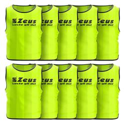 Zeus 10 szt. Śliniak treningowy neon żółty - Erwachsene