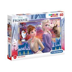 Clementoni® Puzzle Puzzle 60 Teile Die Eiskönigin 2, Puzzleteile