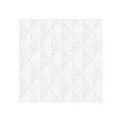 WOW Vliestapete Geo, geometrisch, (1 St), Weiss - 10m x 52cm