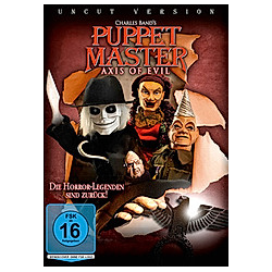 Puppet Master: Axis of Evil - DVD  Filme