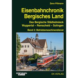 Eisenbahnchronik Bergisches Land - Band 2: Buch von Zeno Pillmann