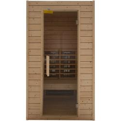 RORO Sauna & Spa Infrarotkabine Typ 100, BxTxH: 113 x 102 x 198 cm, 57 mm