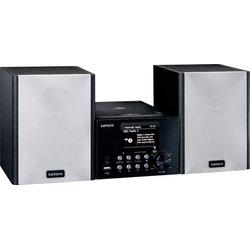 Lenco MC-250BK Stereoanlage Bluetooth®, CD, DAB+, Internetradio, USB, UKW, 2 x 10W Schwarz