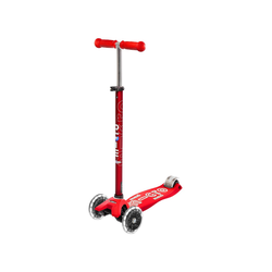 Micro Maxi Deluxe LED Kinderroller