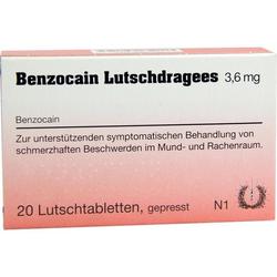 Benzocain Lutschdragees