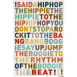 Reinders! Poster Poster I said a HipHop Farbig - Hip-Hop - Songtext - Musik, Musiker (1 Stück)