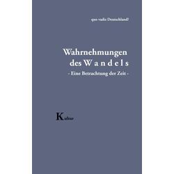 Wahrnehmungen des Wandels als Buch von Karl-Friedrich Papajewski