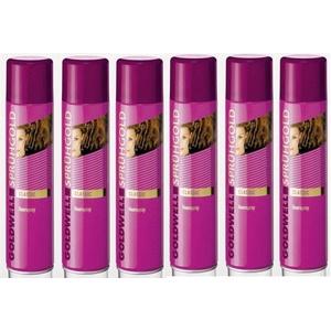 6er Set Goldwell Sprühgold Classic Haarspray 600 ml