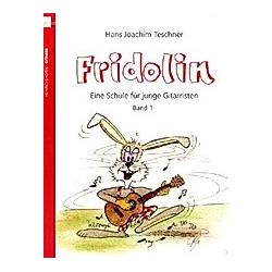 Fridolin  für Gitarre. Hans J. Teschner  - Buch