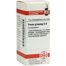 PANAX GINSENG D 6