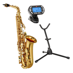 Yamaha YAS-280 Altsaxophon Goldlack Set