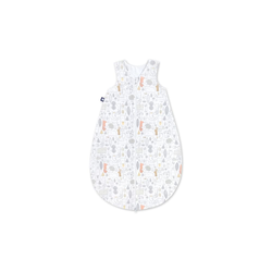 Julius Zoellner Jersey Schlafsack in weiß mit Muster Forest, Größe 56