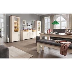set one by Musterring Wohnwand York in Pino-Aurelio-Nachbildung/Eiche-Nelson-Nachbildung