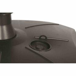 ENNE PLASTICA Schirmständer 50 l, mit Rolle, anthrazit Polyäthylen-HD, für Schirmstöcke 30-55 mm