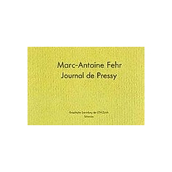 Marc-Antoine Fehr  - Buch