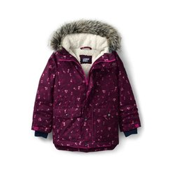 Expeditions-Parka - 122/128 - Rot