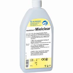 Dr. Weigert neodisher® Mielclear Nachspülmittel, Flüssiges Spezialnachspülmittel zum Einsatz in Spezialspülmaschinen, 1 Liter - Flasche