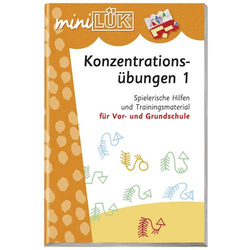 LÜK miniKonzentrationsübungen 1 311