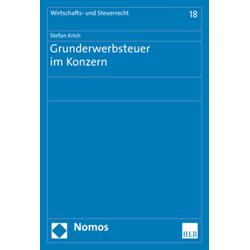 Grunderwerbsteuer im Konzern als Buch von Stefan Krich