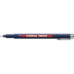 Edding 4-180003003 1800 Fineliner Blau 0.35mm