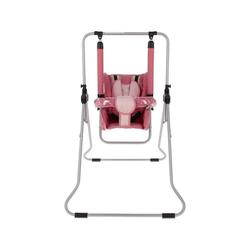 Stillerbursch Babyschaukel Kinderschaukel Babyschaukel Babywippe Zimmerschaukel Gartenschaukel Modell 2 rosa