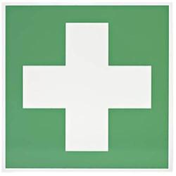 Rettungszeichen Kreuz