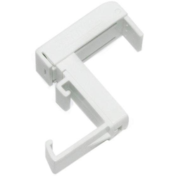 Sichtschutzbefestigung Klemmträger, Kunststoff, GARDINIA, Jalousien, (2-tlg), Serie Aluminium-Jalousie 25 mm