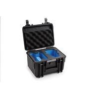 B&W outdoor.cases Type 2000 - Hartschalentasche für Quadrokopter - Polypropylen - Schwarz (2000/B/MINI2)
