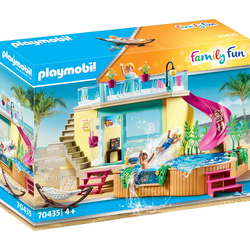 Playmobil Bungalow mit Pool, Playmobil