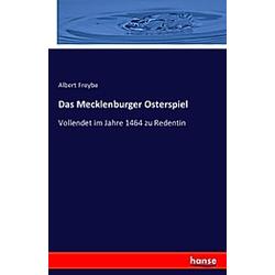 Das Mecklenburger Osterspiel - Buch