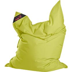Sitzsack BIGFOOT SCUBA, 130 x 170 cm, grün