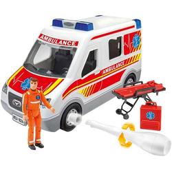 Revell Junior Kit Rettungswagen mit Figur Modellauto