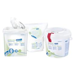 """Schülke wipes safe&easy Desinfektionstücher, Feuchttücher für den Einsatz von schülke safe&easy Spenderbox, 1 Rollen = 111 Tücher, """"bag system"""""""