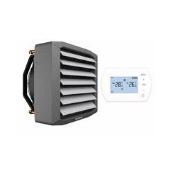 Lufterhitzer 0,7 bis 94 kW Thermostat Regler Heizregister Luftheizung Hallenheizung | Stärke: 50,4