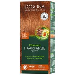 Logona Pulver 020 Karamellblond Haarfarbe 100g Damen