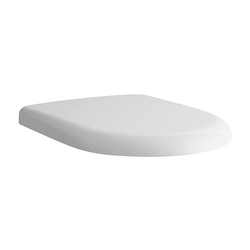 Laufen WC-Sitz PRO UNIVERSAL weiß, Deckel abnehmbar, mit Deckel, mit Absenkautomatik
