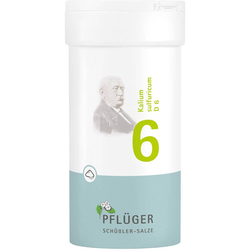 BIOCHEMIE Pflüger 6 Kalium sulfuricum D 6 Pulver 100 g