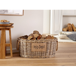 HomeLiving Picknickkorb Holz-Depot