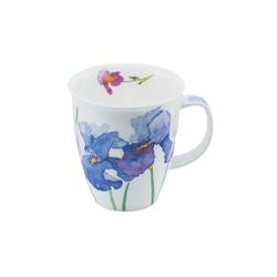 Dunoon Becher, Fine Bone China, Dunoon Becher Teetasse Kaffeetasse Nevis Flora Iris