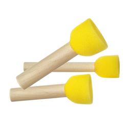 VBS Schwämmchen Schwamm-Stupfpinsel, 3 Stück