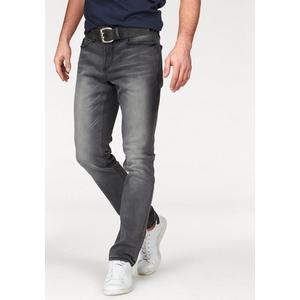 Bruno Banani Straight-Jeans Hutch grau 40