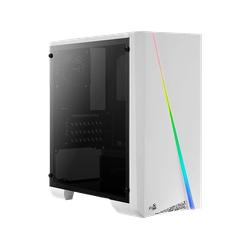 AEROCOOL Cylon Mini PC-Gehäuse, Weiß