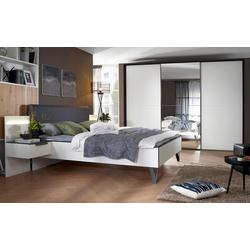 Vito Schlafzimmer 4010 in alpinweiß mit Schwebetürenschrank