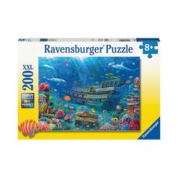 Ravensburger Puzzle Puzzle 200 Teile Versunkenes Schiff, Puzzleteile