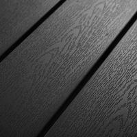 Tectake Maren Gartentisch 90 x 90 x 74,5 cm schwarz
