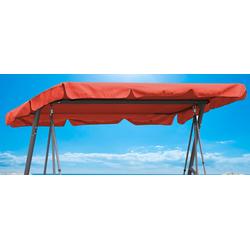 Quick Star Hollywoodschaukelersatzdach orange Sonnensegel Sonnenschirme -segel Gartenmöbel Gartendeko